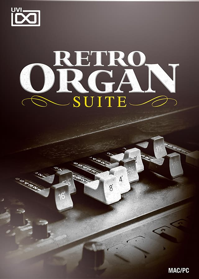 Retro Organ Suite - Raw vintage sounds from 100 years of the Organ and it's evolution