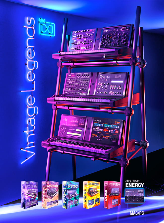 Vintage Legends Bundle - An iconic synth collection by UVI