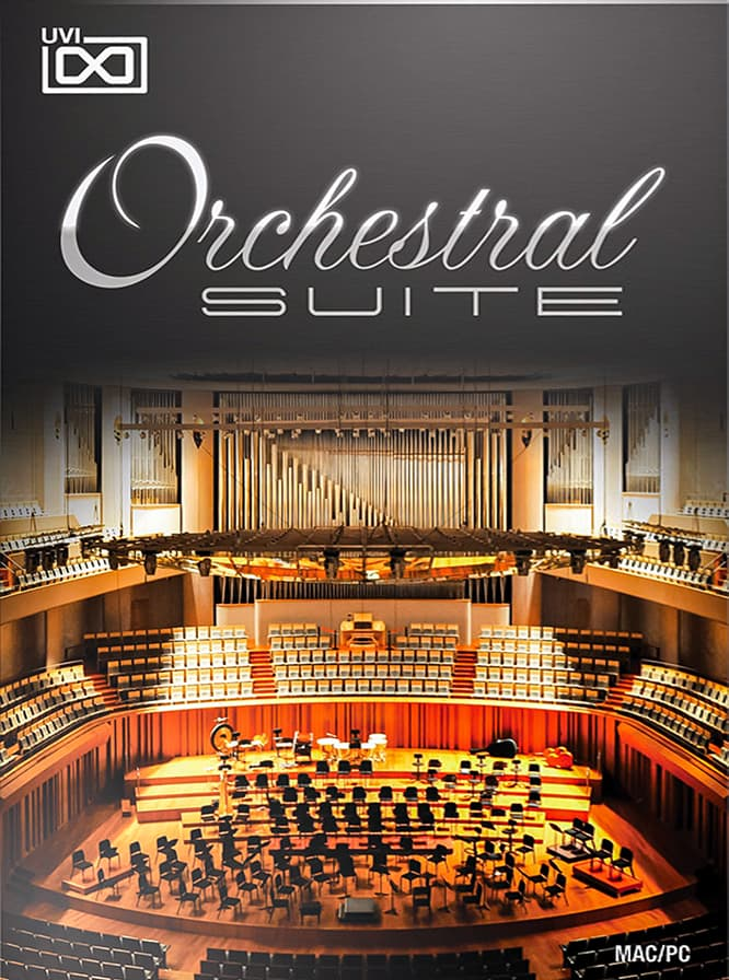 Orchestral Suite - Over 60 classical instruments in a single convenient and affordable package