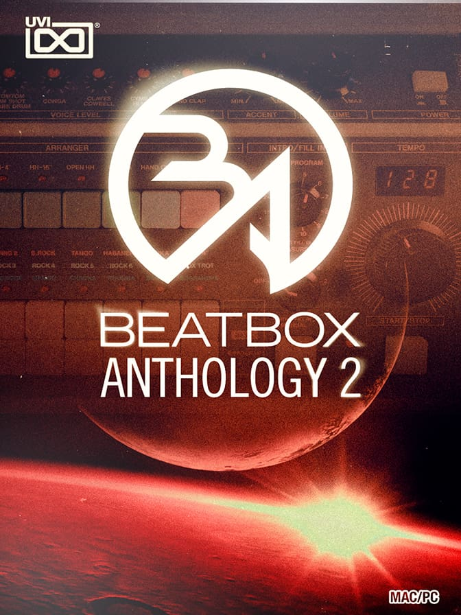 Beat Box Anthology 2 - An incredible collection of vintage, modern and customized drum machine sounds