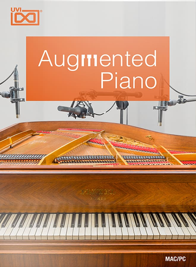Augmented Piano - One-of-a-kind creative instrument with 24 complete preparations
