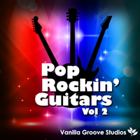 Pop Rockin Guitars Vol.2 - 38 blistering guitar loops arranged in 5 construction kits from 128 to 133 BPM