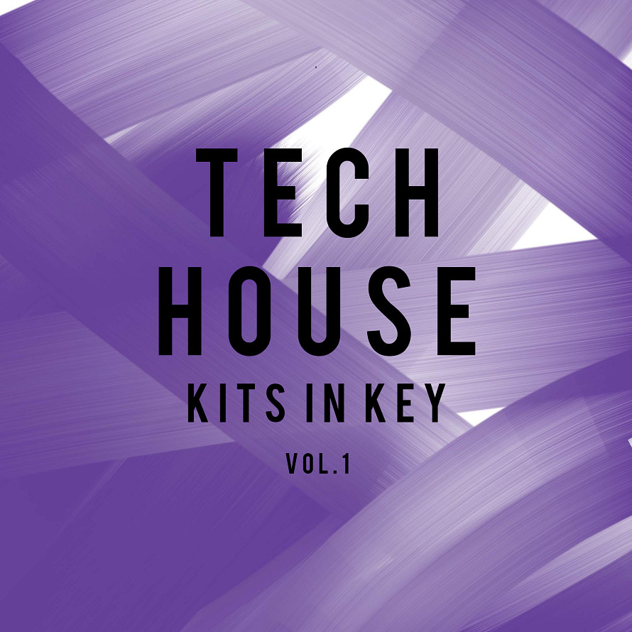 Tech House: Kits in Key Vol.1 - Tech House beats & individual sounds by Gareth Hester