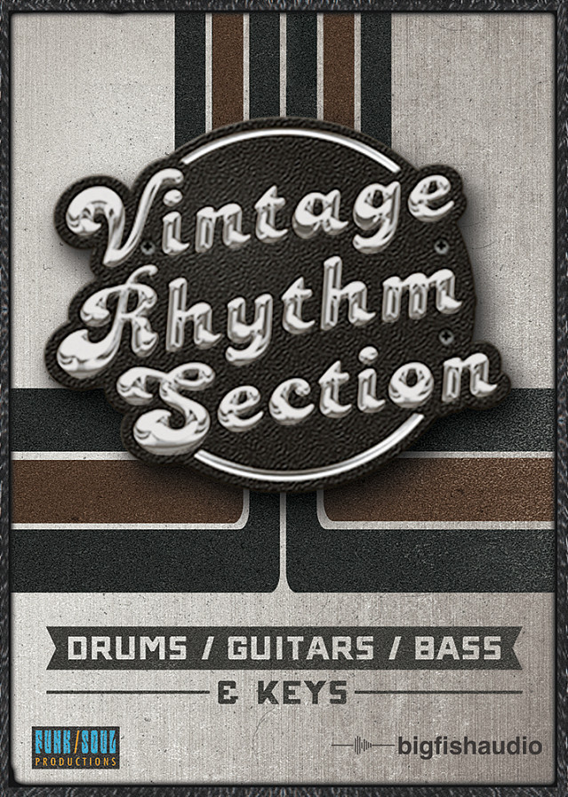Vintage Rhythm Section - Classic rhythm section sounds of R&B, Soul, Funk, Jazz and Rock records