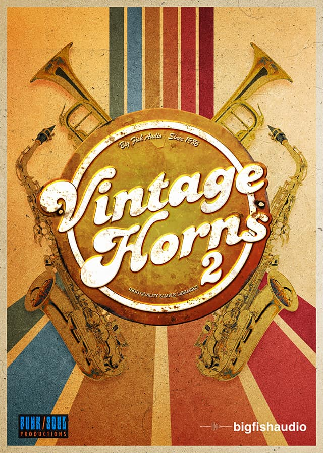 Vintage Horns 2 - Capture the character and tone of horn players from the 60s and 70s