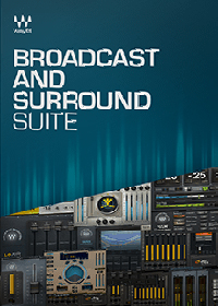 Broadcast and Surround Suite - Industry-standard broadcast audio plugins for TV, radio, film and webcasting