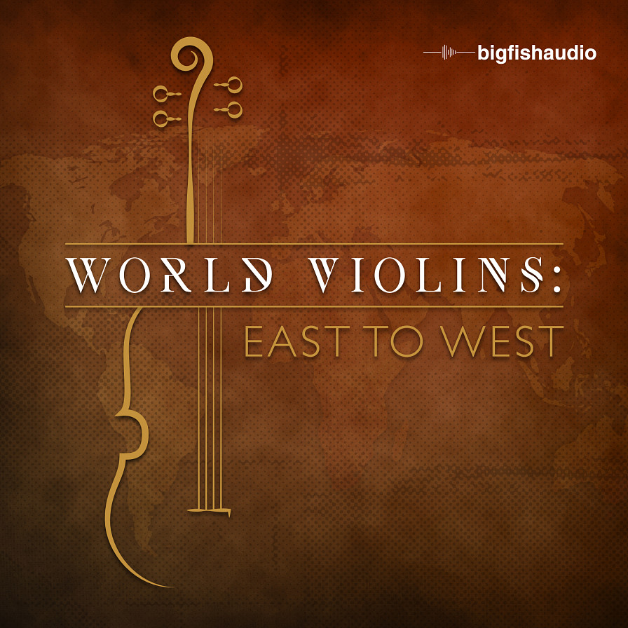 World Violins: East to West - A beautifully recorded collection of violin melodies from across the world