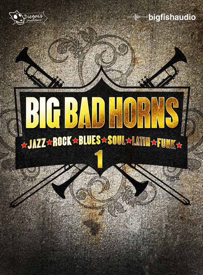 Big Bad Horns - A Collection of Modern and Classic Horn Band Construction Kits