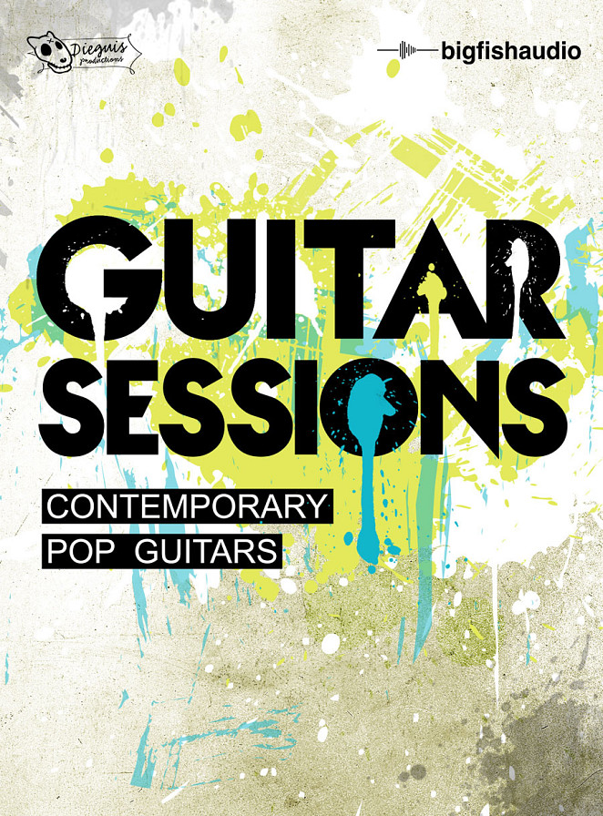 Guitar Sessions: Contemporary Pop Guitars - Pop, Indie, Modern Rock, Country and Dance guitar loops