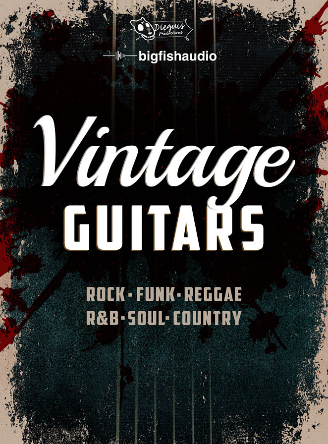 Vintage Guitars - Rock, Funk, Reggae, R&B, Soul and Country Guitars