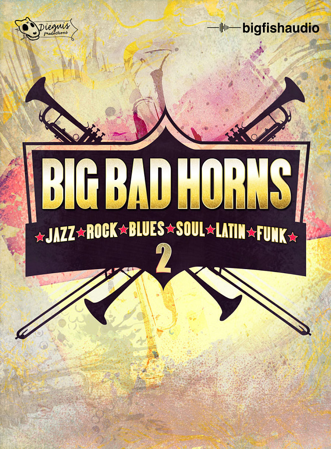 Big Bad Horns 2 - An enormous collection of Horn, Drum, Keys, Guitar, and Bass Loops