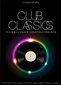 Club Classics - Over 3 Gigabytes of original material from the 70s and 80s dancefloor