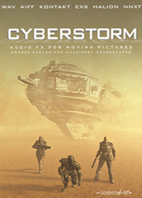 Cyberstorm - Over 2.3 GB of incredible hard-hitting sound FX for film and game soundtracks