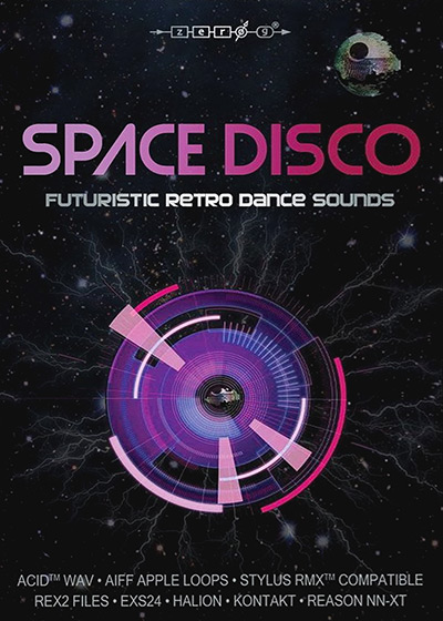 Space Disco - A vintage-styled library based on the 70s/80s space disco scene