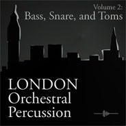London Orchestral Percussion: Bass, Snare & Toms product image