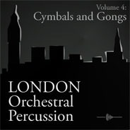 London Orchestral Percussion: Cymbals & Gongs product image