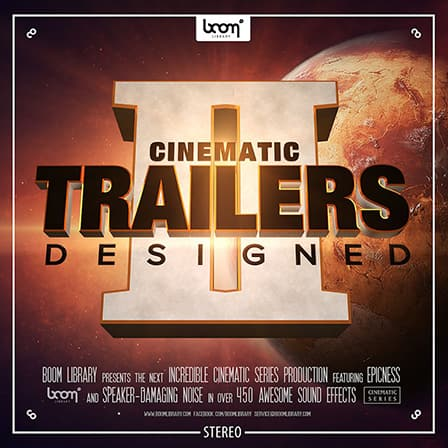 Cinematic Trailers Designed 2 Sound FX