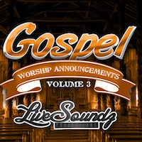 Gospel Worship Announcements Vol.3 product image