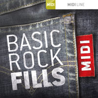 Basic Rock Fills MIDI product image