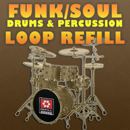 Funk/Soul Drums & Percussion ReFill product image