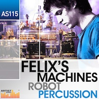 Felix's Machines - Robot Percussion product image
