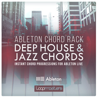Ableton Chord Rack - Deep House & Jazz Chords product image