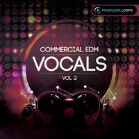 Commercial EDM Vocals Vol.2 product image