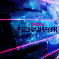 Biotech Hazard - Cinematic Drum Loops product image