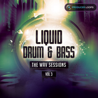 Liquid Drum & Bass: The WAV Sessions Vol.3 product image