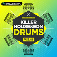 Killer House & EDM Drums Vol 1 product image