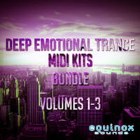 Deep Emotional Trance MIDI Kits Bundle (Vols 1-3) product image