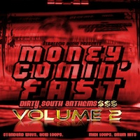 Money Comin' Fast: Dirty South Anthems Vol.2 product image