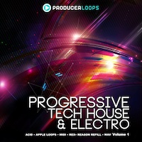 Progressive Tech House & Electro Vol.1 product image
