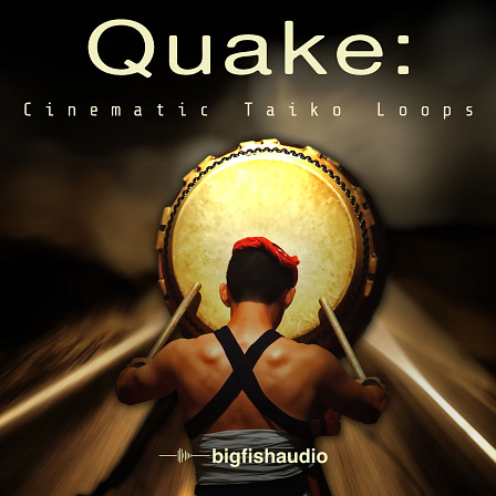 QUAKE: Cinematic Taiko Loops product image