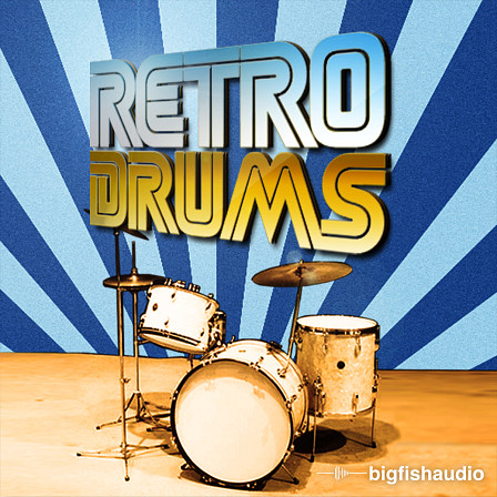 Retro Drums: Disco, Funk and Old School Loops product image