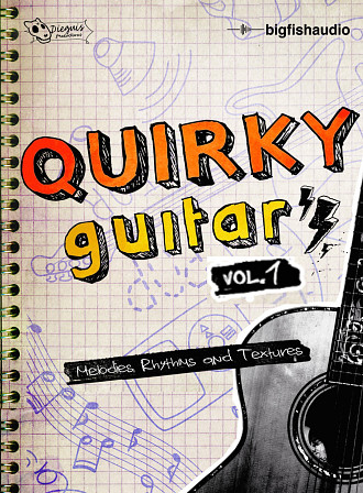 Quirky Guitars vol. 1 product image