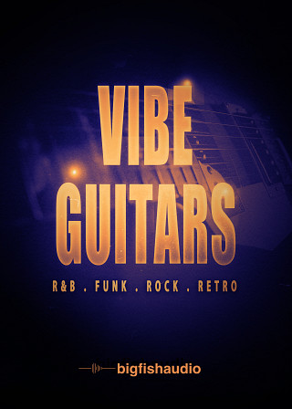 Vibe Guitars: R&B, Funk, Rock, Retro product image