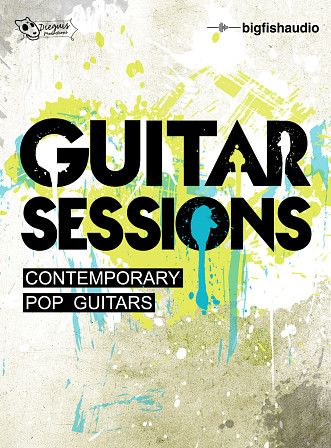 Guitar Sessions: Contemporary Pop Guitars product image