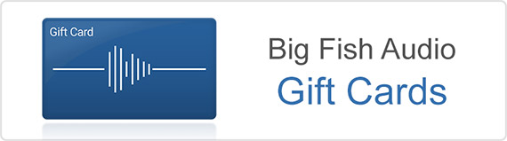 Big Fish Audio Gift Cards