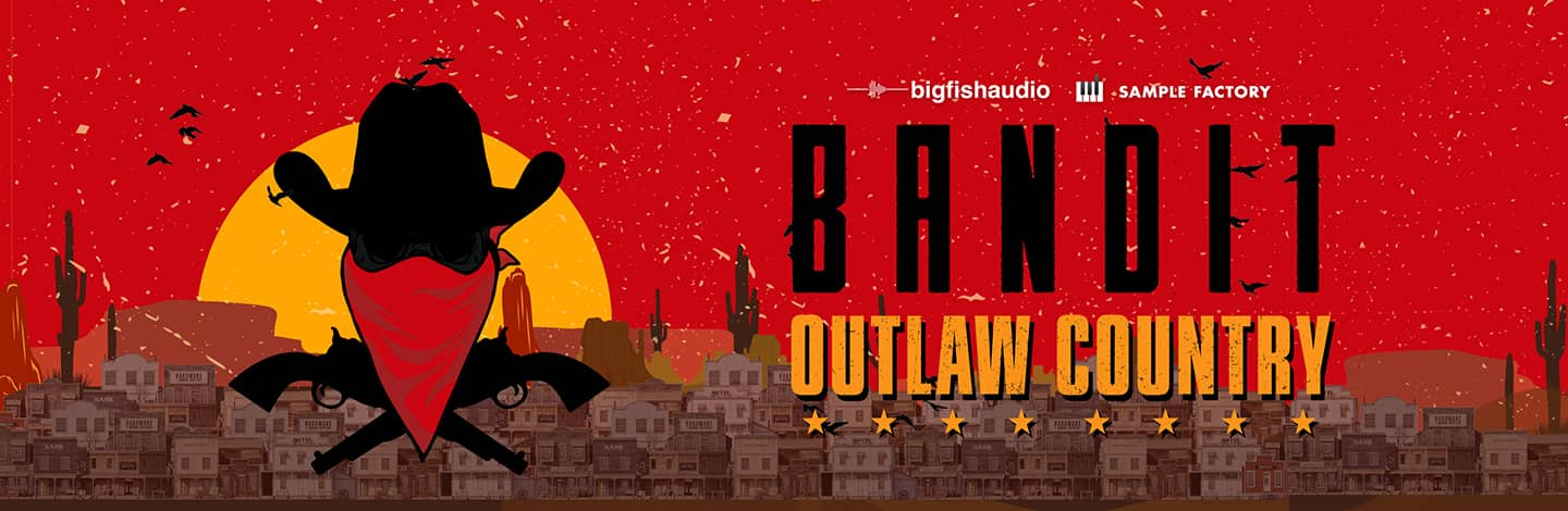 Bandit: Outlaw Country by Big Fish Audio