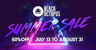 Black Octopus Summer Sale 50% Off At Big Fish Audio