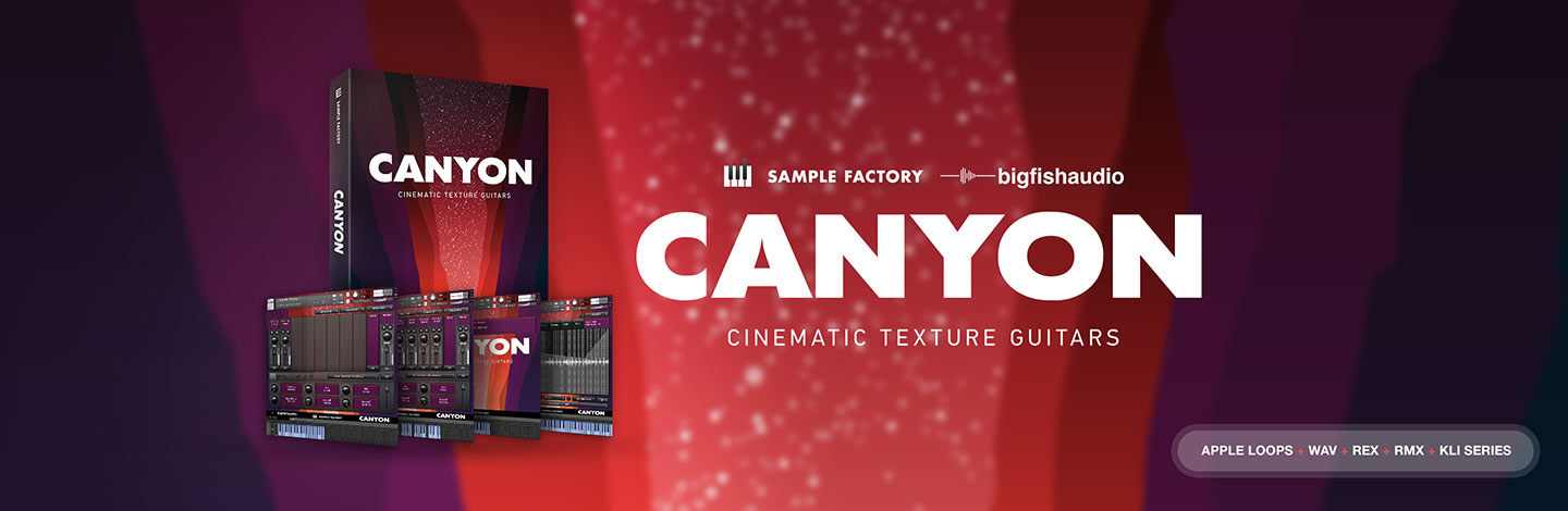 Canyon: Cinematic Texture Guitars