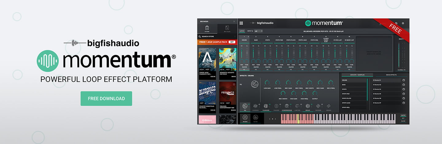 Momentum Plugin Big Fish Audio
