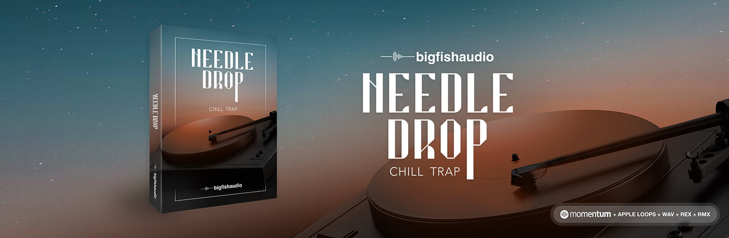 Needle Drop: Chill Trap by Big Fish Audio