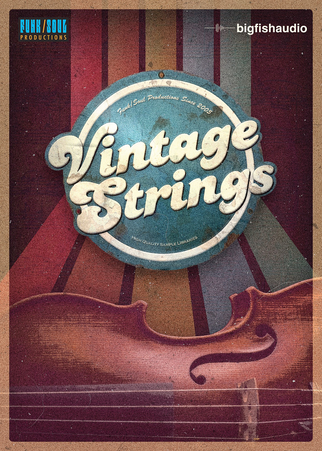 Vintage Strings - A pure '60s and '70s violin section virtual instrument