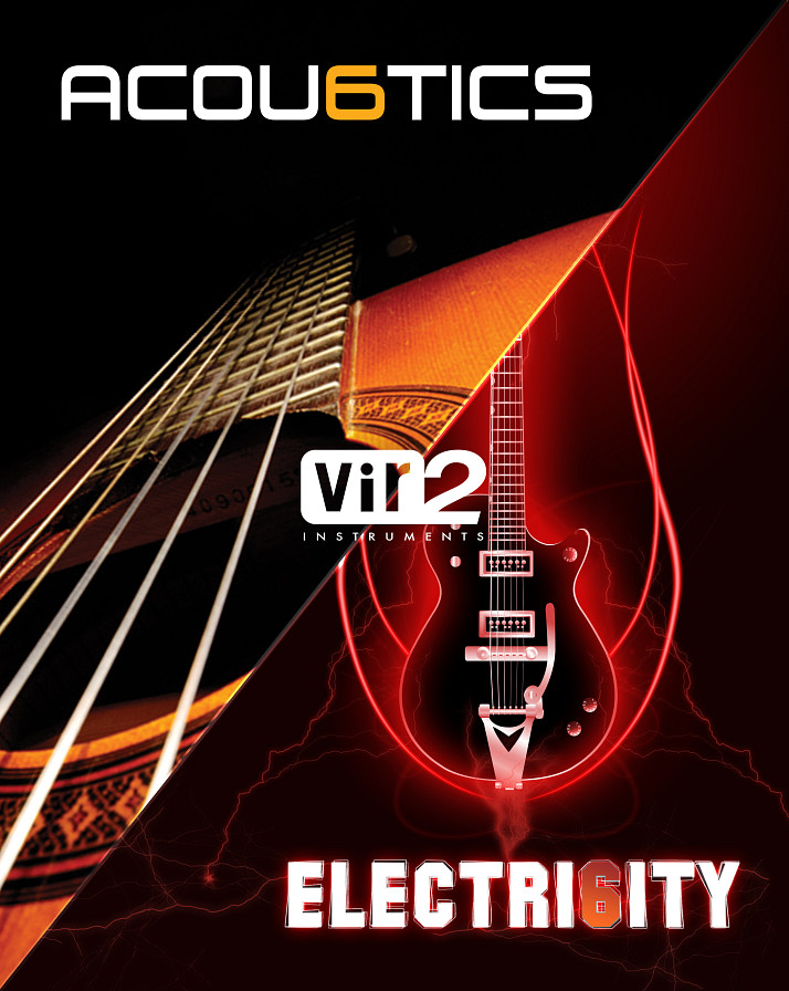 Acou6tics Electri6ity Bundle - Two incredible acoustic and electric guitar virtual instruments bundled together