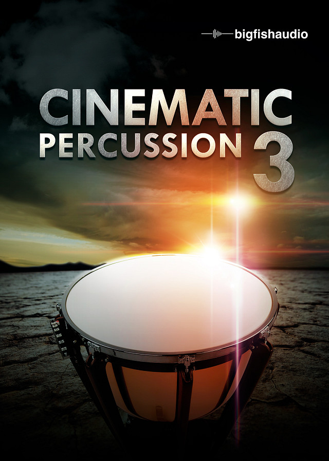 Cinematic Percussion 3 - Over 10GB of massive Cinematic Percussion and Sound Design Elements