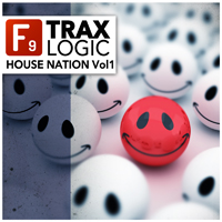F9 TRAX Logic - House Nation Volume 1 - 5 fully functioning LOGIC productions produced and mixed inside your DAW