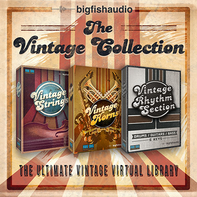 Vintage Collection, The - A massive bundle of beautifully crafted instruments at an unbelievable price!