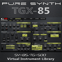 TGX-85 Pure Synth - Top of the line next-generation virtual instrument library expansion